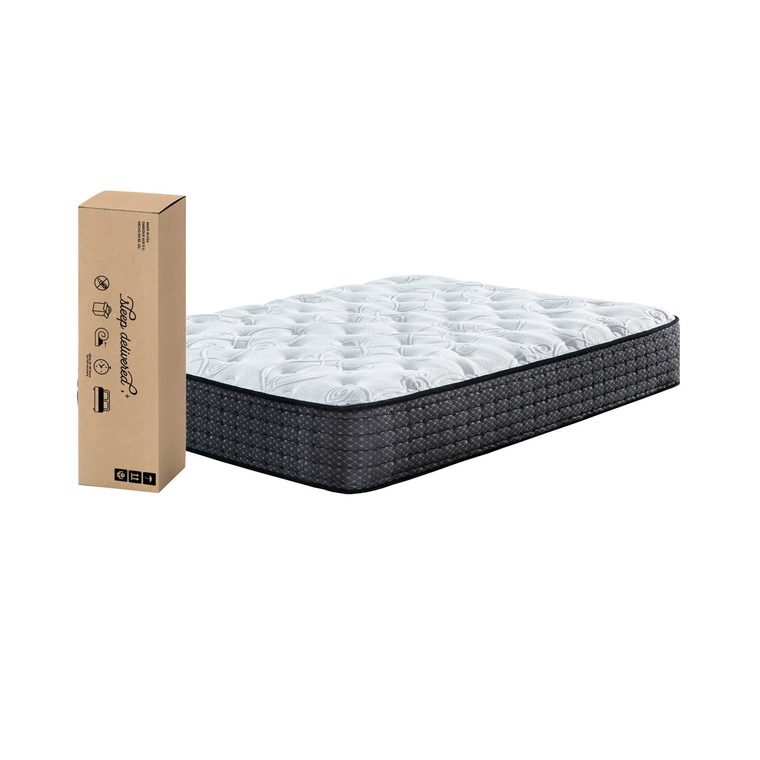 "12"" Tight Top Plush King Innerspring Boxed Mattress"