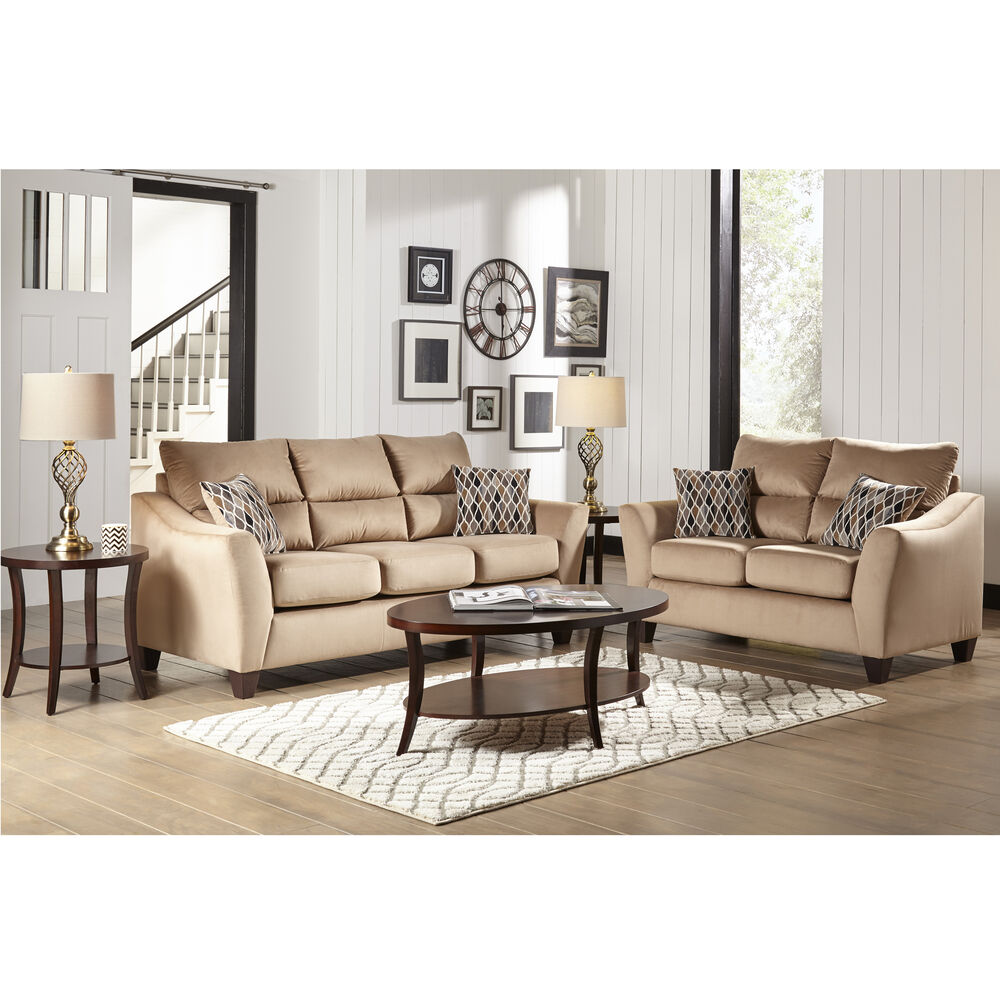Woodhaven Industries Sofa & Loveseat Sets 2-Piece Camden