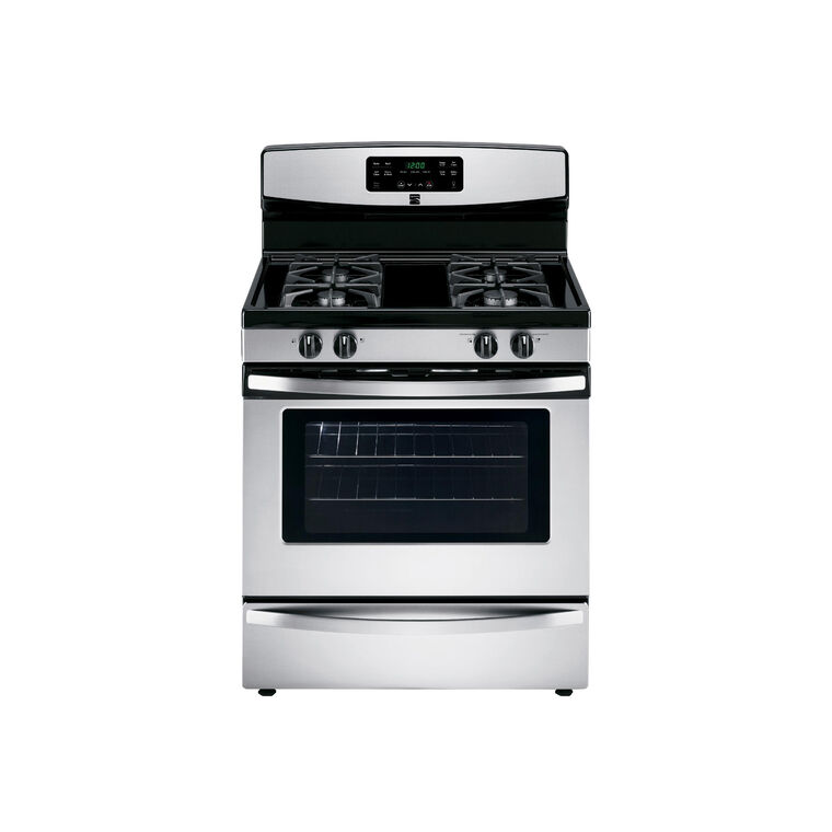 5.0 cu. ft. Self Cleaning Gas Range - Stainless Steel