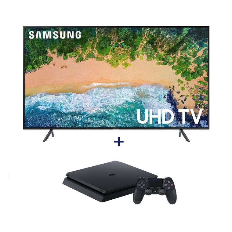 "55"" Class (54.6"" Diag) Smart 4K UHD TV & Playstation 4 Bundle"