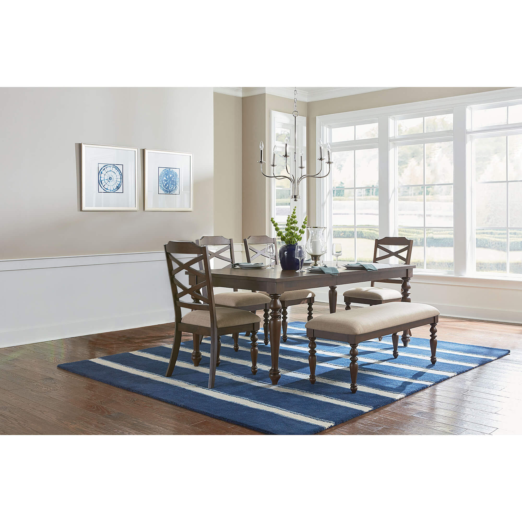 6 Piece Larson Dining Room Collection