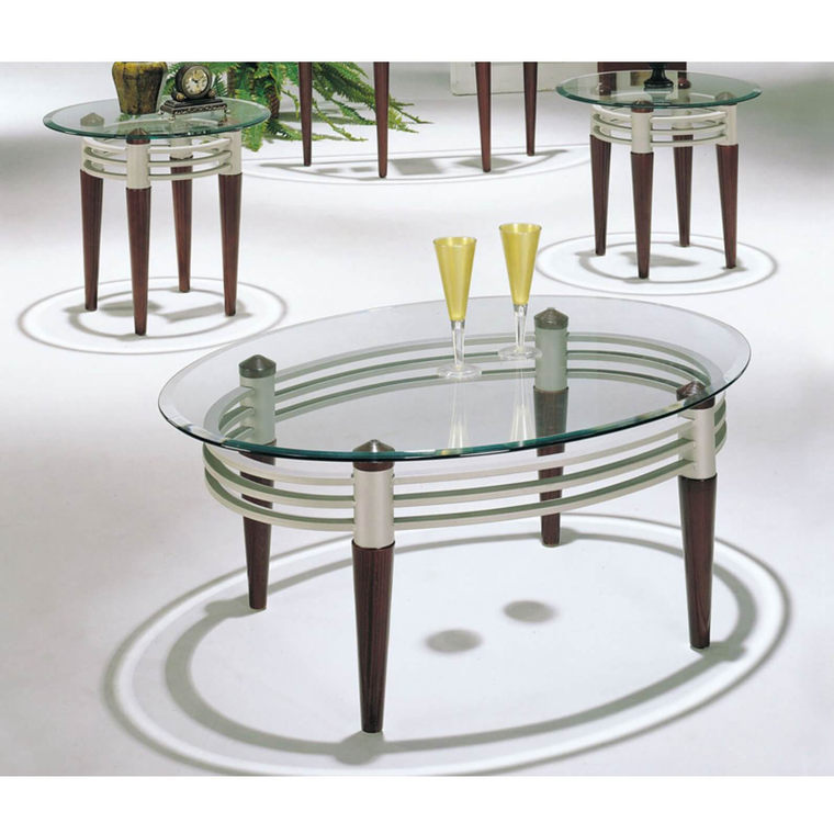 3-Piece Marseilles Cocktail & End Tables Bundle