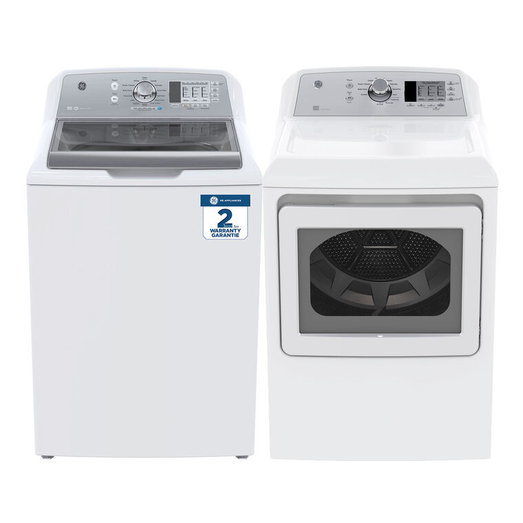 5.3 cu. ft. Energy Star Top Load Washer &  7.2 cu. ft. Energy Star Electric Dryer