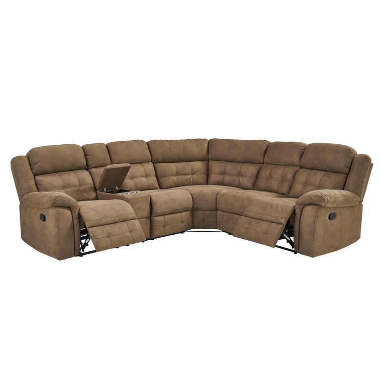 3-Piece Cobalt Reclining Sectional Living Room Collection