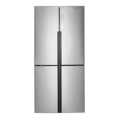 16.4 cu. ft. Quad Door Refrigerator - Stainless Steel