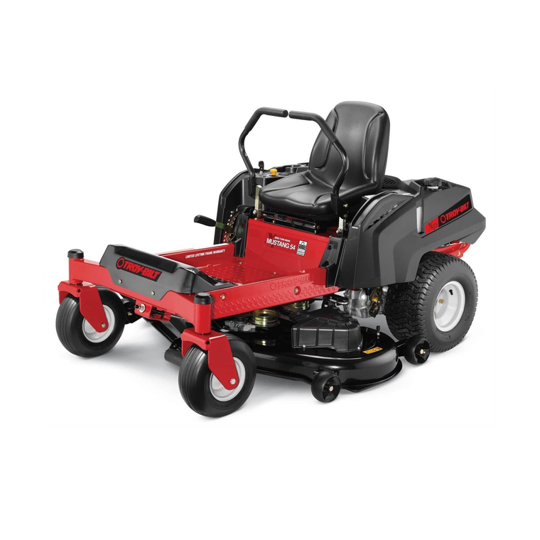 Troy Bilt Outdoor Power Mustang 54 In 25hp Zero Turn