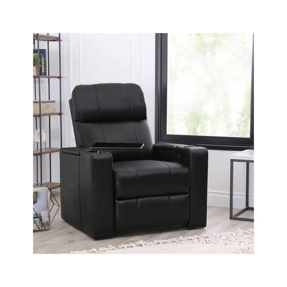 Pleasing Rider Power Faux Leather Recliner Gmtry Best Dining Table And Chair Ideas Images Gmtryco
