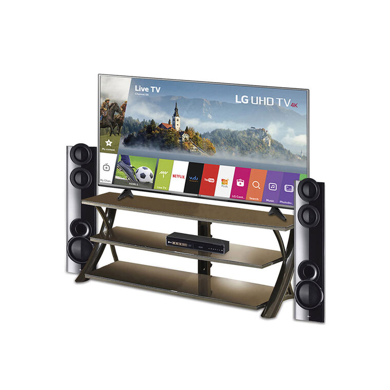 "65"" Class (64.5"" Diag.) 4K UHD TV Home Theater System with TV Stand"