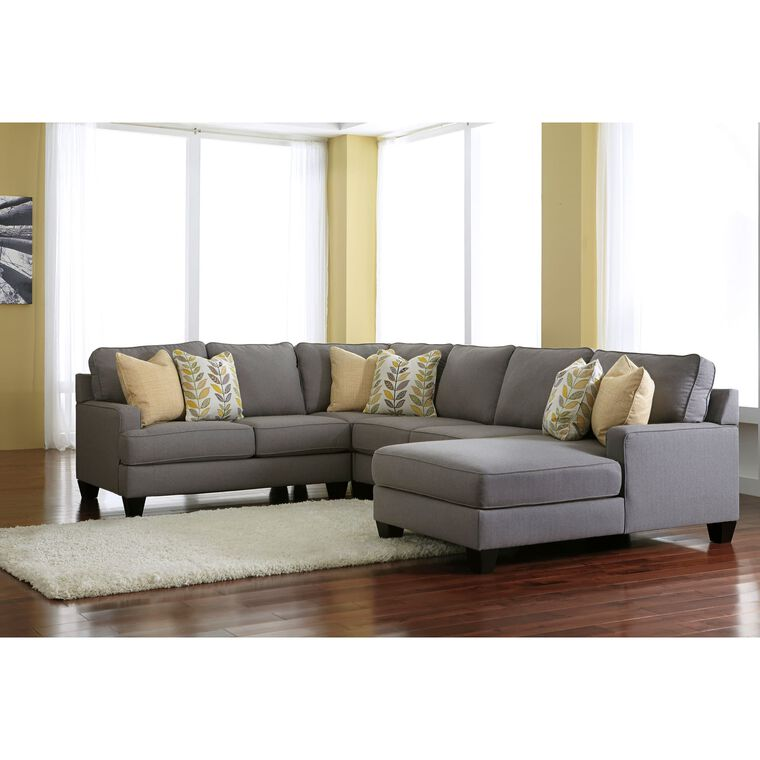 4-Piece Chamberly Sectional Living Room Collection