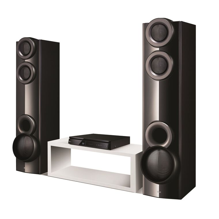 4.2Ch 1000W Home Theater System with Blu-Ray Player