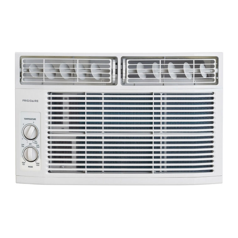 6K BTU 2 Speed Rotary Window Air Conditioner