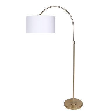 "63.5"" Modern Gold Plated Lamp"