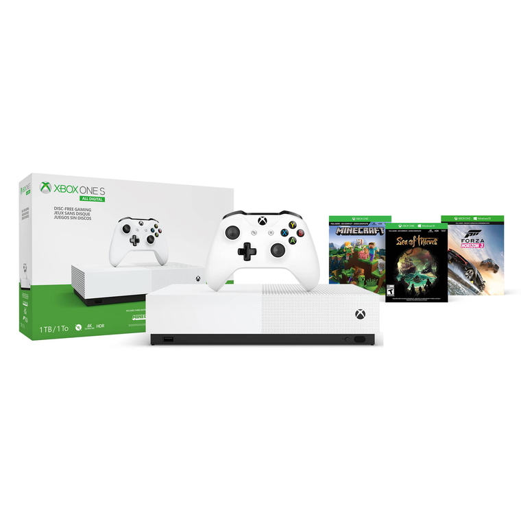 All Digital Xbox One S 1TB Console & Controller