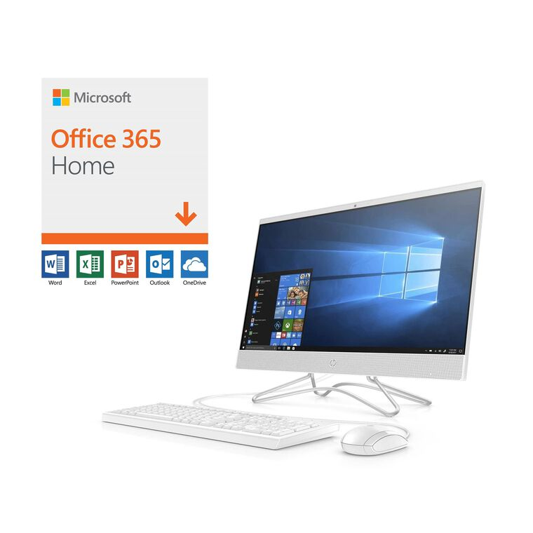 "24"" All-in-One Desktop with Microsoft Office 365 and Total Defense Internet Security"