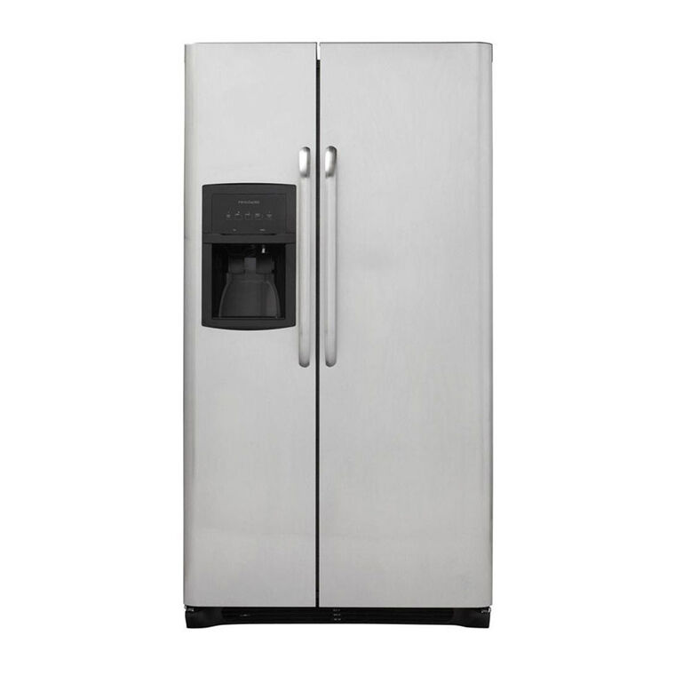 23 cu. ft. Side by Side Stainless Steel Refrigerator