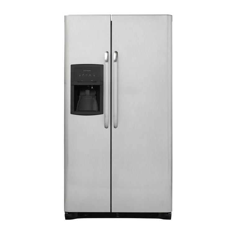 23 cu. ft. Side by Side Stainless Steel Refrigerator | Tuggl