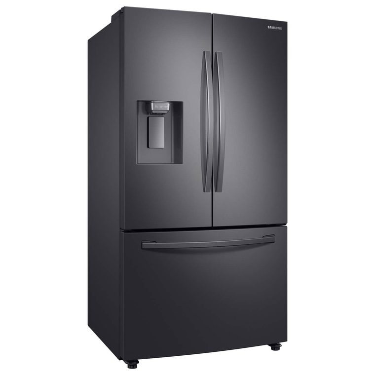 28 cu. ft. French Door Refrigerator w/ Ice & Water - Black Stainless