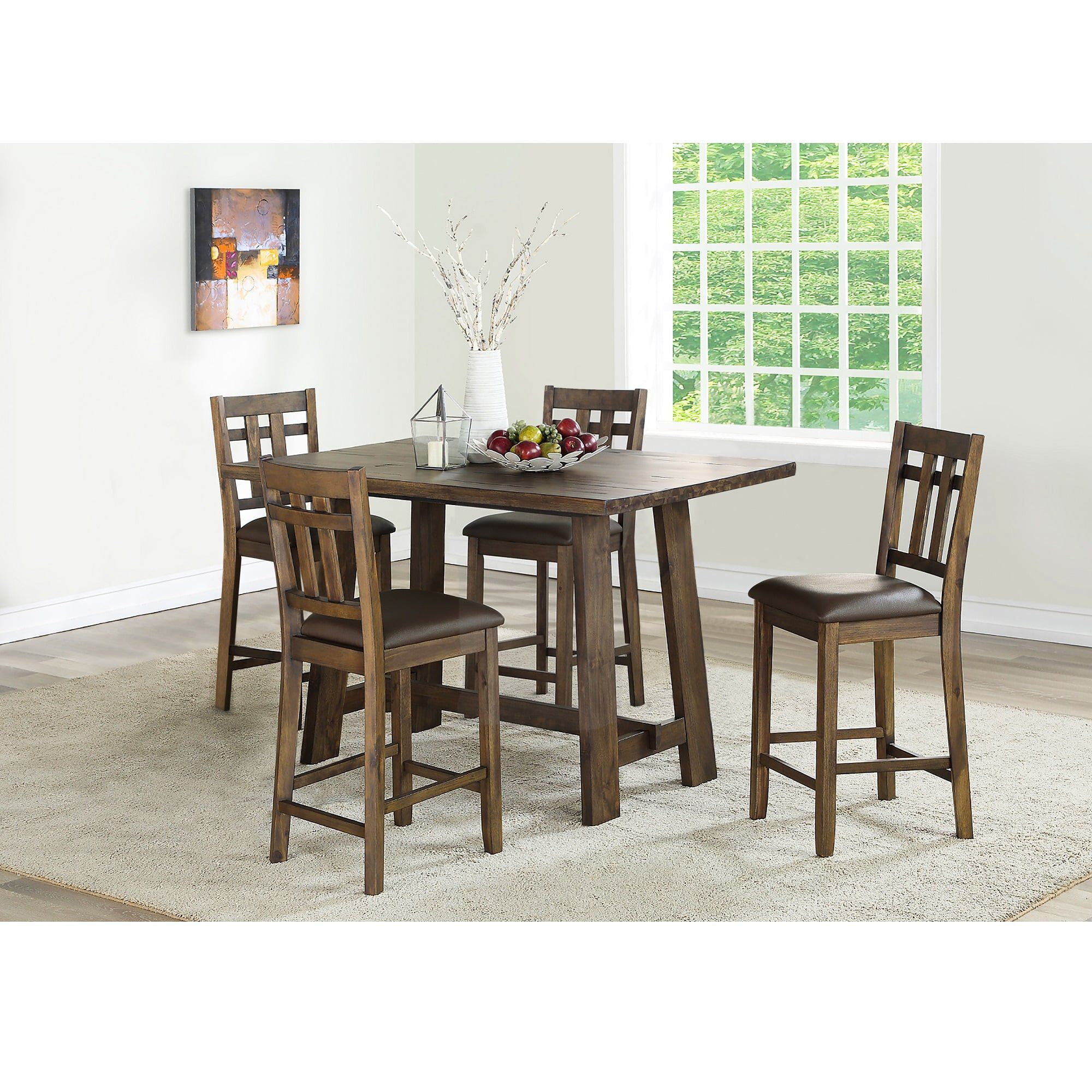 5 Piece Saranac Counter Height Dining Room Collection