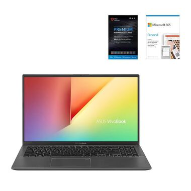"""15.6"""" VivoBook Laptop with Microsoft 365 Home Edition & Total Defense Security"""
