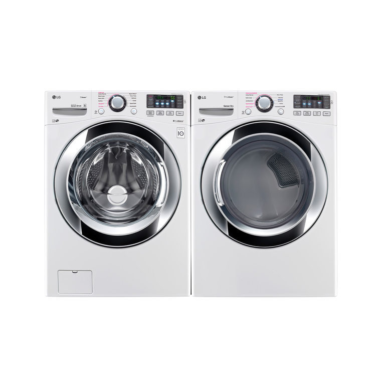 4.5 cu. ft. Large Steam Washer & 7.4 cu. ft. Large Electric Steam Dryer™ at Aaron's in Lincoln Park, MI | Tuggl