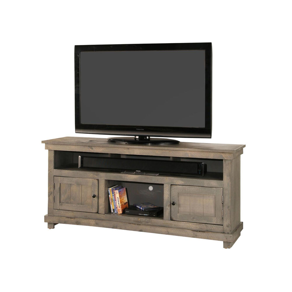 Whalen Tv Stands Entertainment Centers 60 Rustic Tv Stand Grey