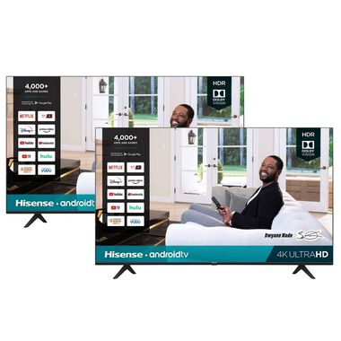 "2 TV Bundle - Two 43"" Class 4K UHD Smart TVs"