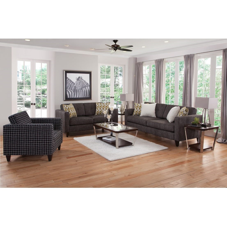 3-Piece City Living Room Collection