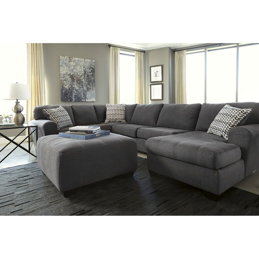 Ashley Furniture Ind. Sofa & Loveseat Sets 4-Piece Sorenton Slate ...