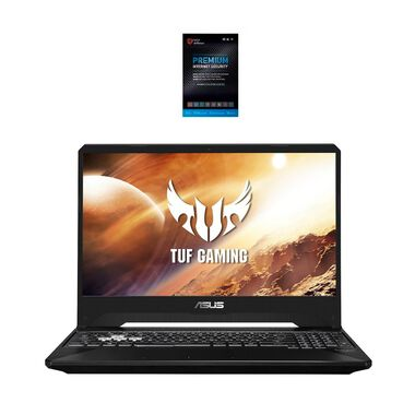 "15.6"" TUF Gaming Laptop with AMD Ryzen 7 CPU & Total Defense Internet Security"