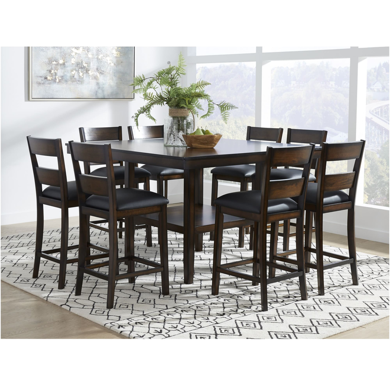 9-Piece Delaney Counter Height Dining Room Collection