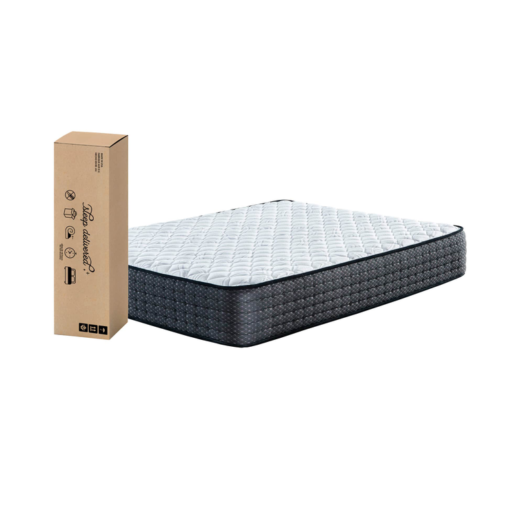 "13"" Tight Top Firm Twin Innerspring Boxed Mattress"