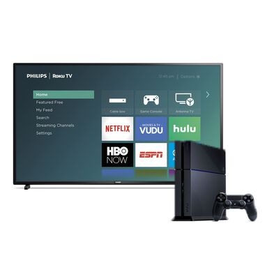 "55"" Class Smart 4K UHD TV & Playstation 4 Bundle"