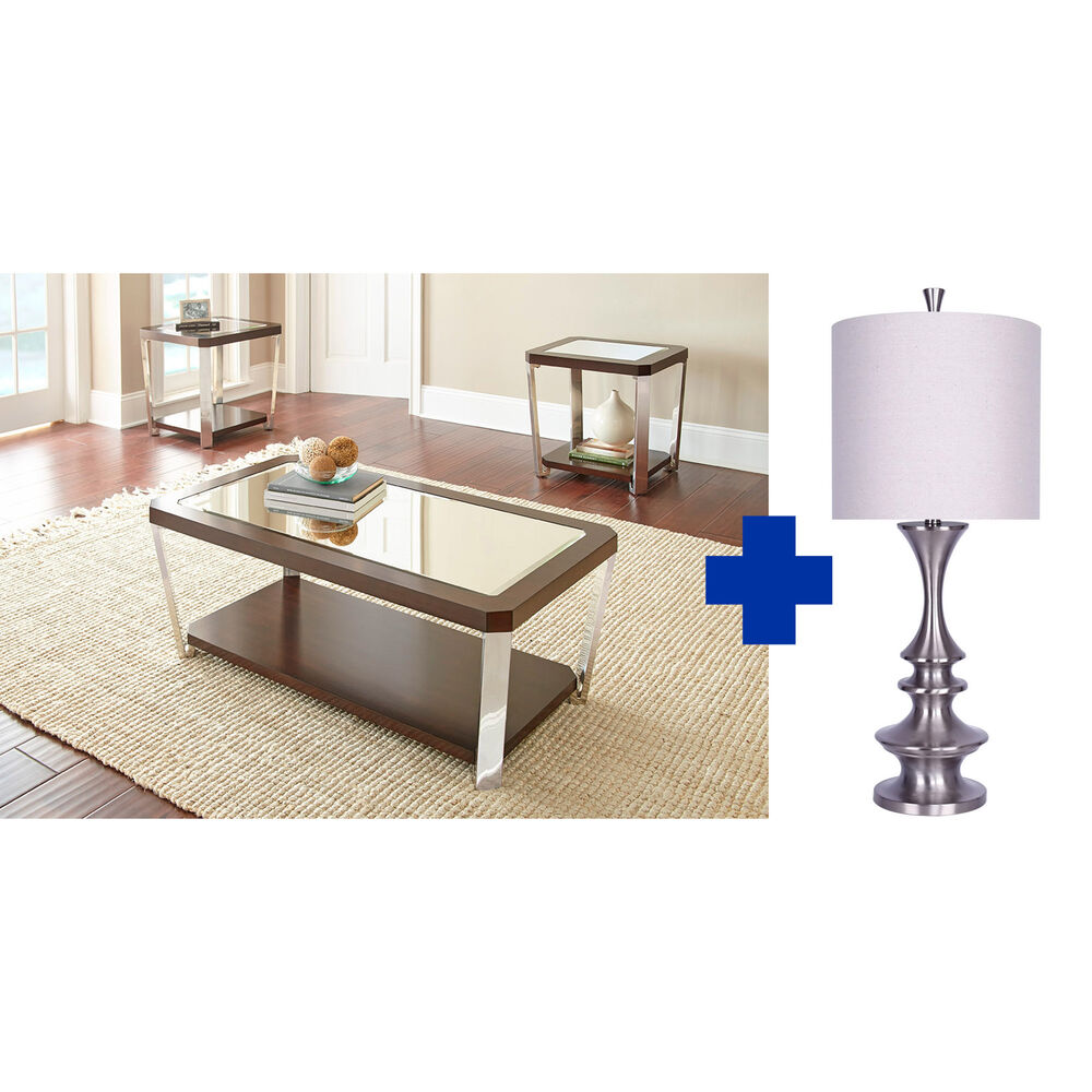 Steve Silver Tables Lamps Rugs Accy 5 Piece Truman Living Room