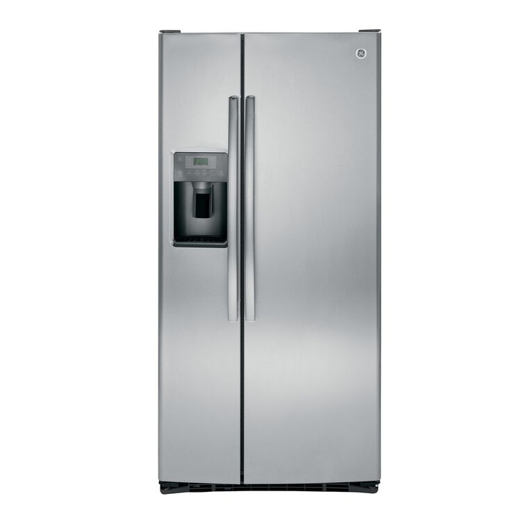 23.2 cu. ft. Side-by-Side Refrigerator with Ice and Water - Stainless