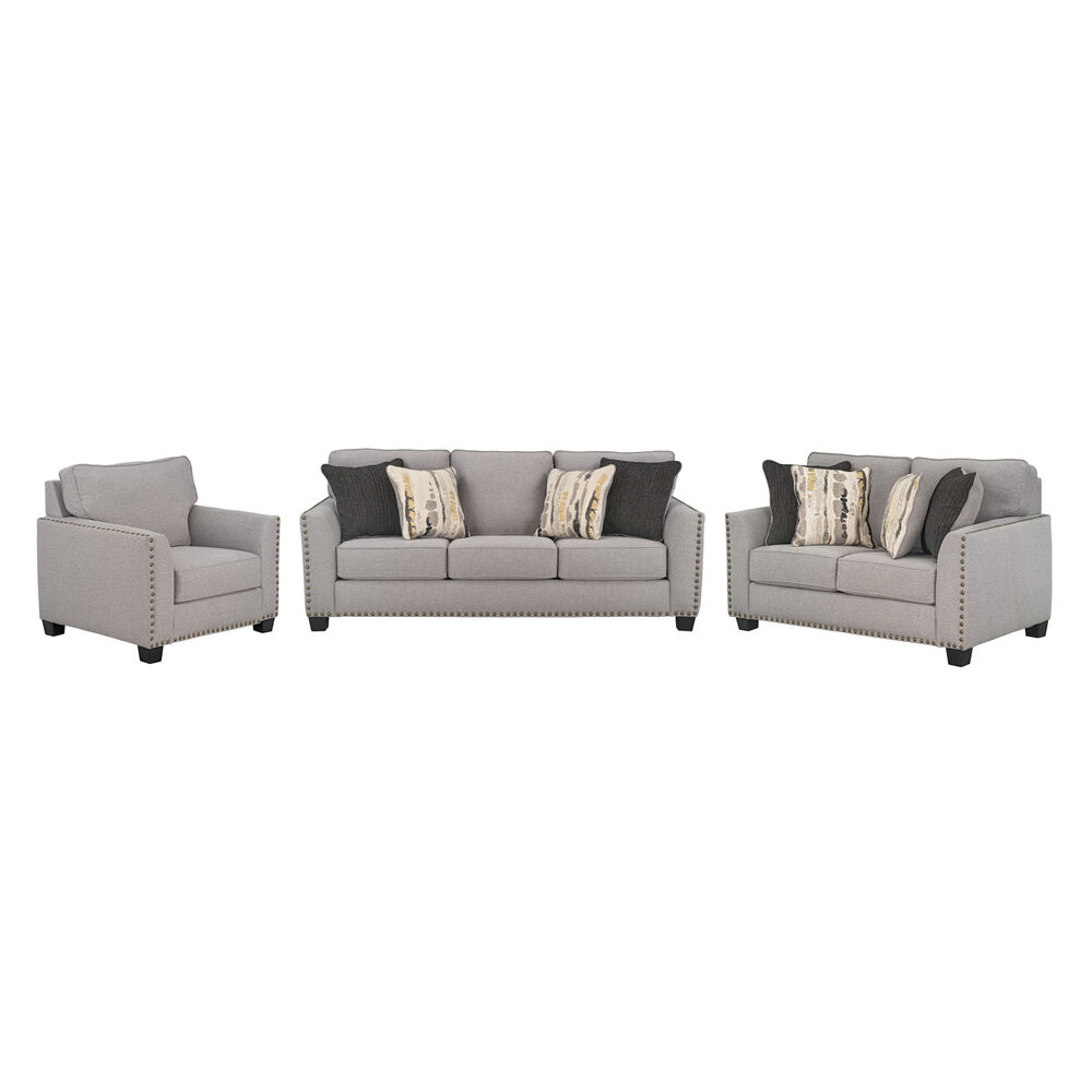 Peachy 3 Piece Carmelle Sofa Loveseat And Chair Download Free Architecture Designs Scobabritishbridgeorg