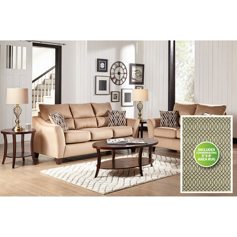 8-Piece Camden Living Room Collection | Tuggl