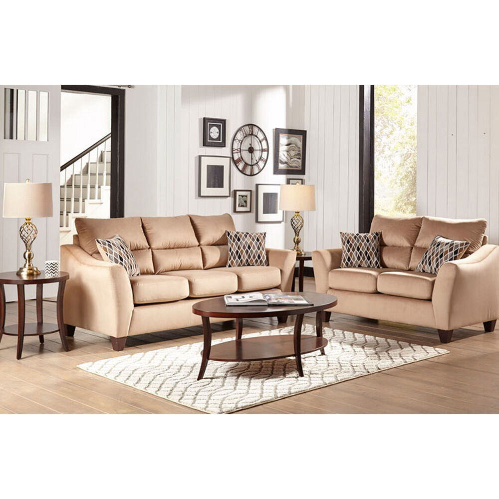 Woodhaven Industries Living Room Sets 7-Piece Camden Living ...