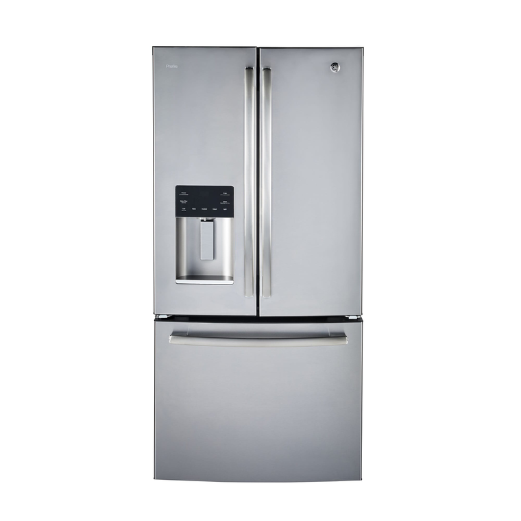 23.8 cu. ft. Energy Star French Door Refrigerator - Stainless