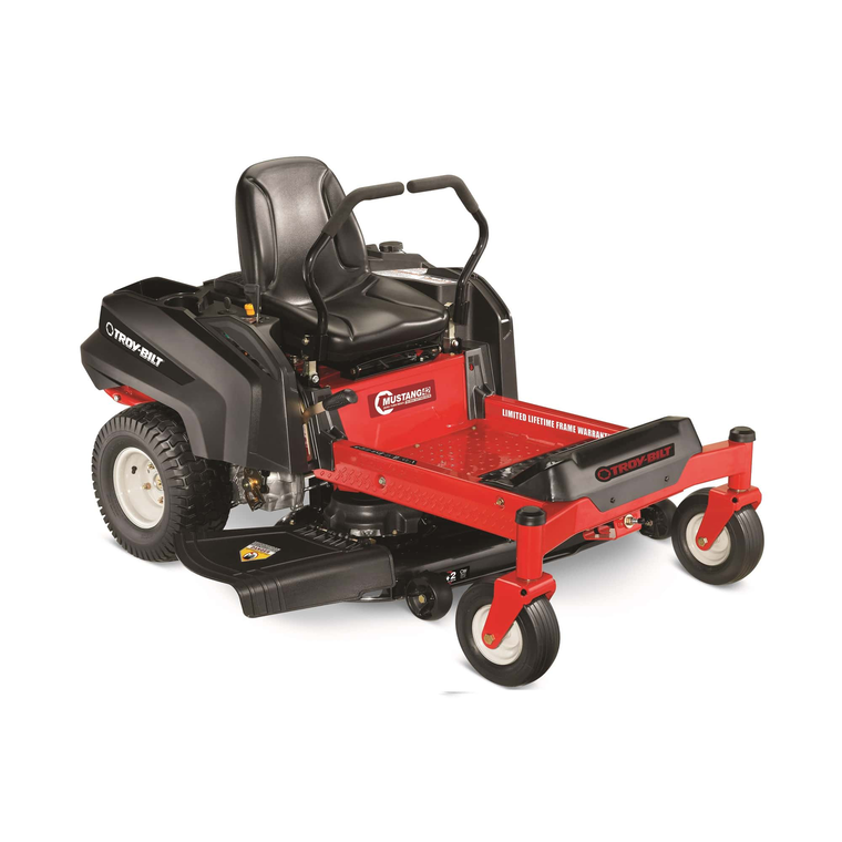 Troy Bilt Outdoor Power Mustang 42 Quot Twin Blade Zero Turn