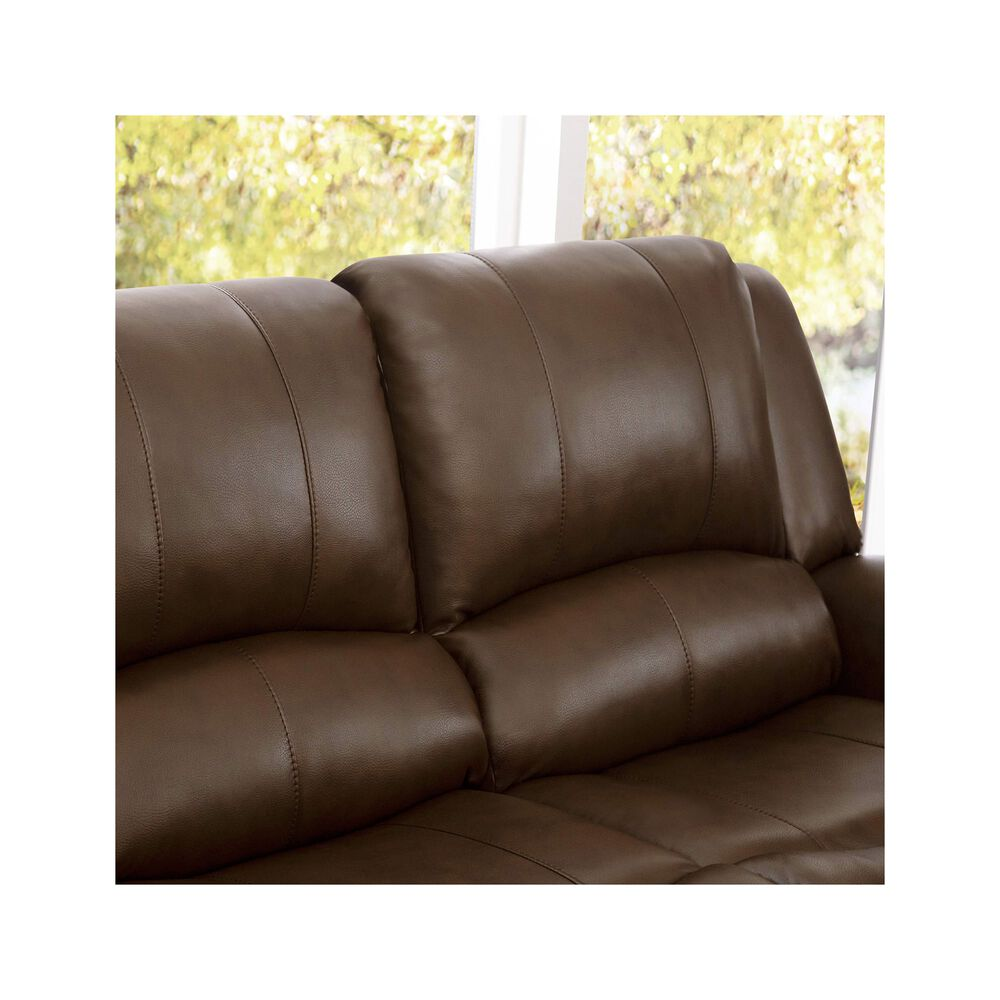 Incredible Rent To Own Abbyson Living Calabasas Faux Leather Loveseat Short Links Chair Design For Home Short Linksinfo