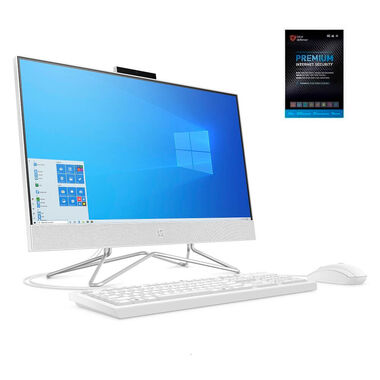 "24"" All-in-One Desktop with AMD Athlon™ Gold 3150U CPU & Total Defense Internet Security"