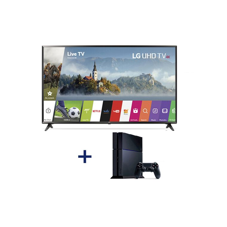 "65"" Class (64.5"" Diag.) Smart 4K UHD TV & Playstation 4 Bundle"