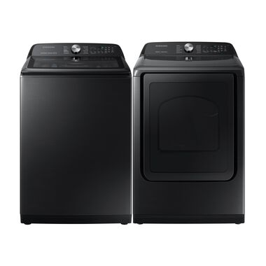 5.0 cu. ft. High-Efficiency Washer & 7.4 cu. ft. Gas Steam Dryer