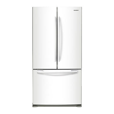 18 cu. ft. Counter Depth French Door Refrigerator - White
