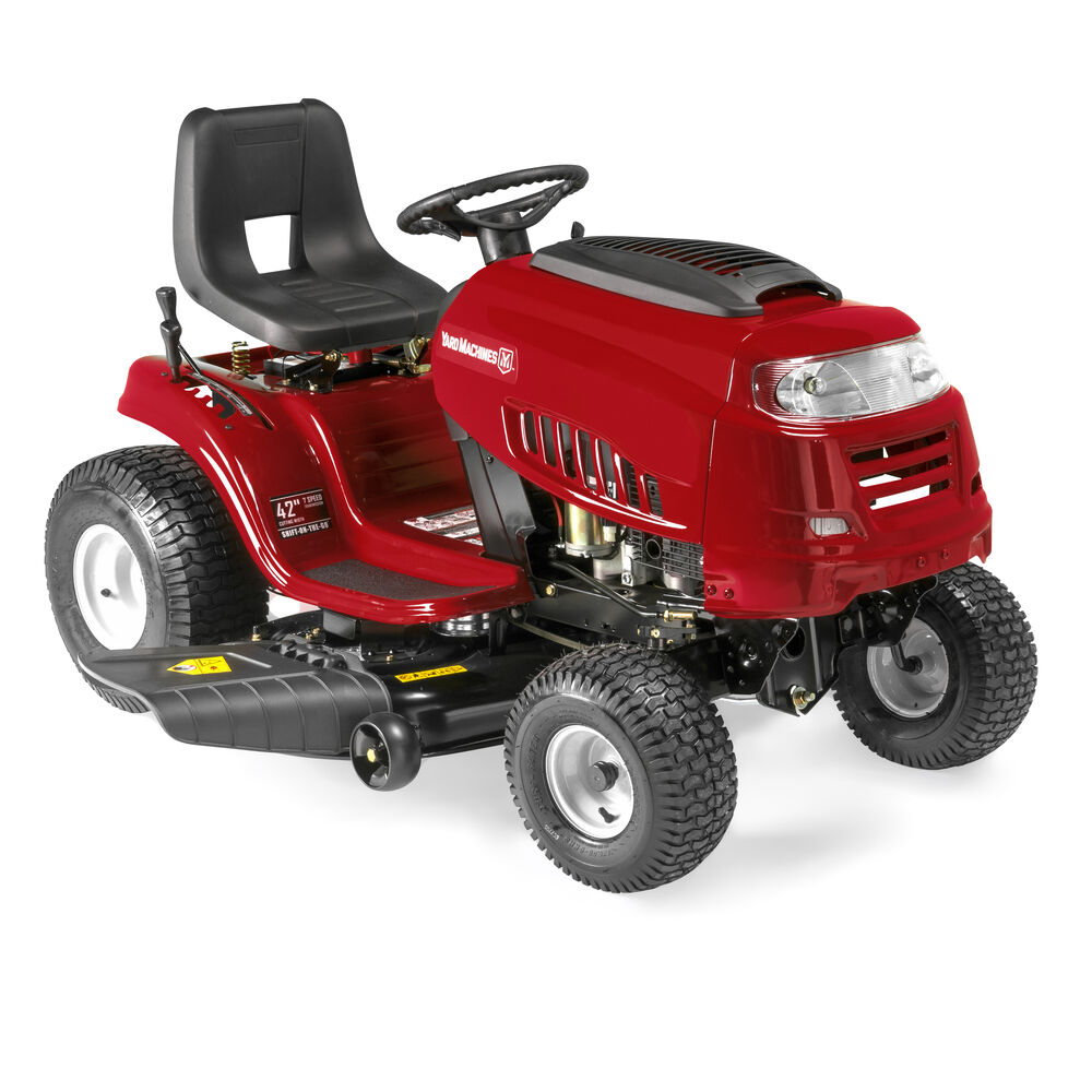 Riding Lawn Mower Aarons Yard Machines Outdoor Power Speed