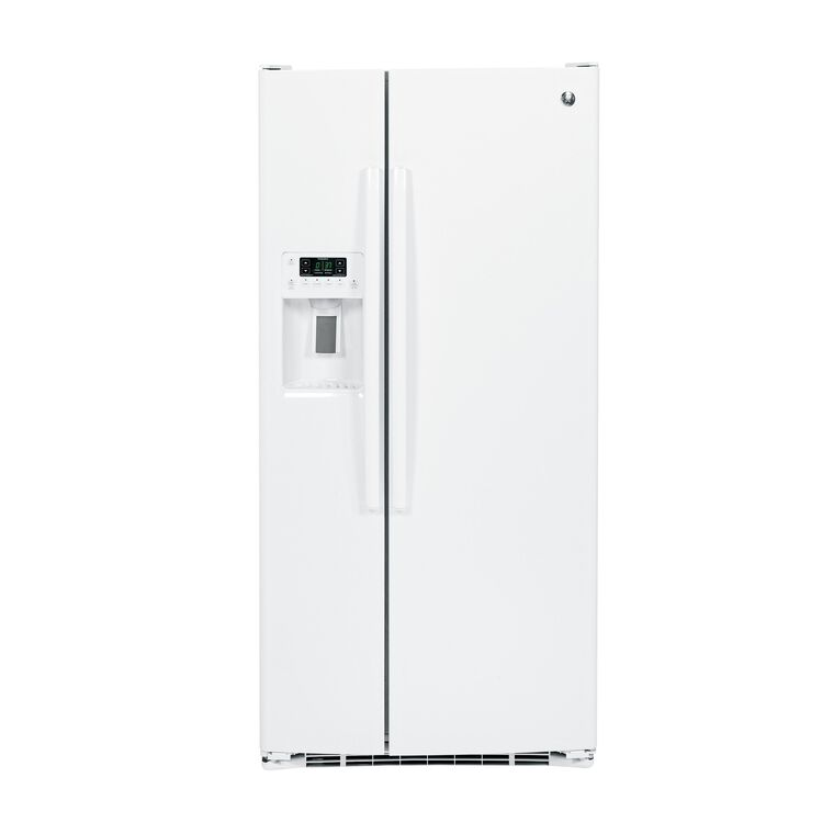 22.5 cu. ft. Side-by-Side Refrigerator with Ice and Water - White