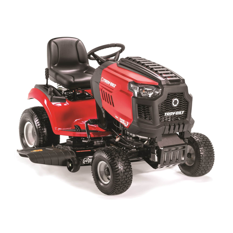 """50"""" Deck 679cc Riding Mower With Foot Hydro Transmission"""