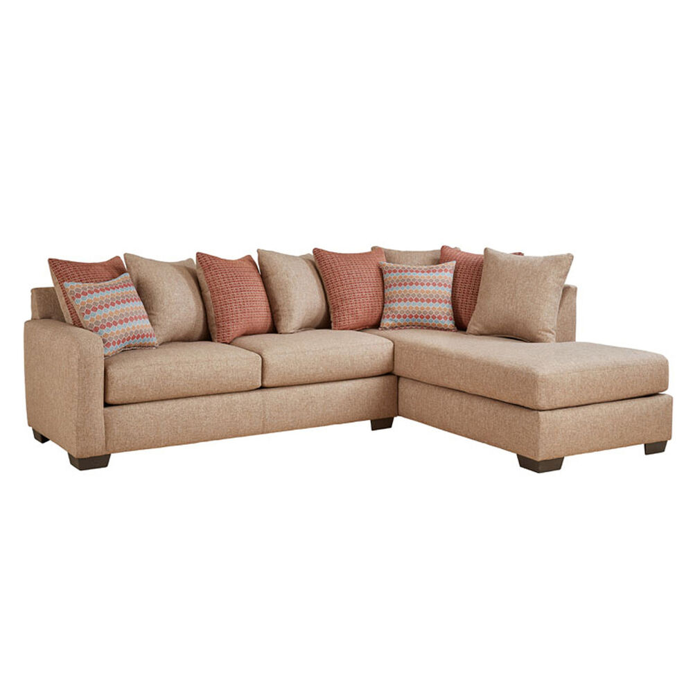 Woodhaven Industries Sectionals 2-Piece Casablanca Living Room ...