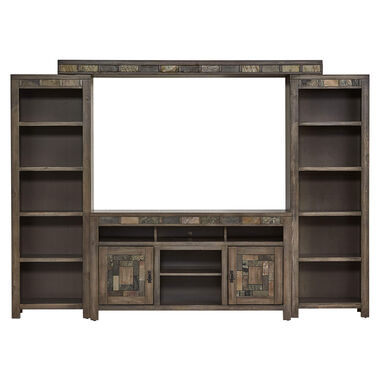 4-Piece Castle Creek Entertainment Wall