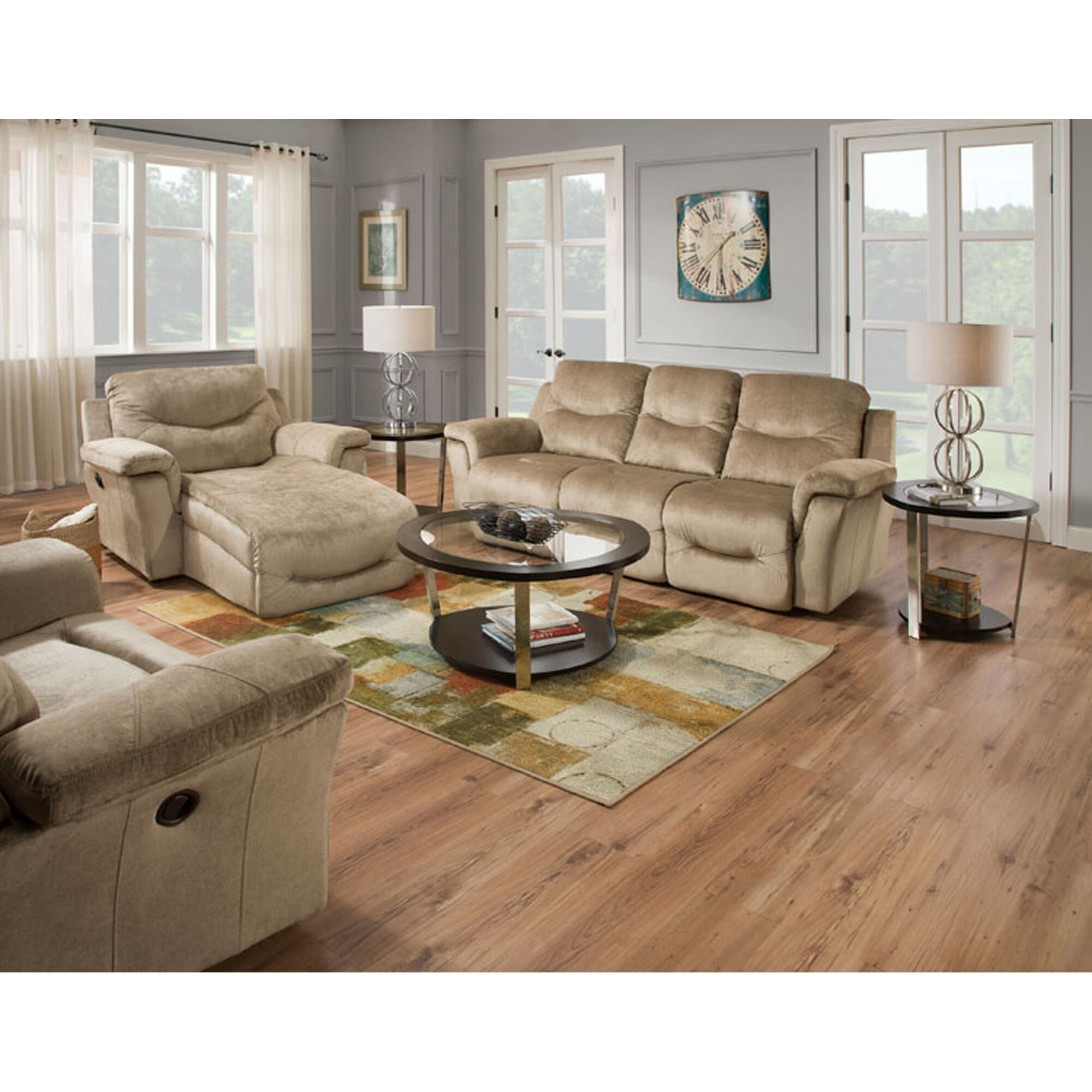 7 Piece Calloway Living Room Collection
